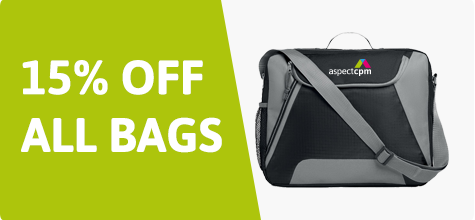 15% off all bags